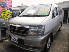 沖縄の中古車 日産 キャラバンエルグランド 車両価格 49万円 リ済込 平成10年 16.5万K パールII