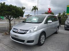 沖縄の中古車 トヨタ アイシス 車両価格 88万円 リ済別 平成25年 7.4万K シルバー