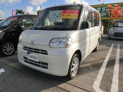 沖縄の中古車 ダイハツ タント 車両価格 81万円 リ済別 平成23年 3.8万K パールホワイト