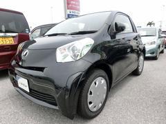 沖縄の中古車 トヨタ iQ 車両価格 97.2万円 リ済別 平成26年 3.7万K ブラック