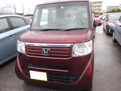 沖縄の中古車 ホンダ N BOX 車両価格 108万円 リ済別 平成26年 5.9万K ワイン