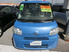 沖縄の中古車 ダイハツ タント 車両価格 94.5万円 リ済別 平成24年 5.8万K ブルー