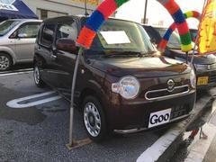 沖縄の中古車 ダイハツ ミラココア 車両価格 93万円 リ済込 平成25年 0.9万K プラムブラウンクリスタルマイカ