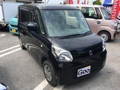 沖縄の中古車 スズキ スペーシア 車両価格 88万円 リ済込 平成26年 6.3万K ブラック