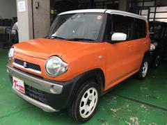 沖縄の中古車 スズキ ハスラー 車両価格 98万円 リ済込 平成26年 3.9万K オレンジII