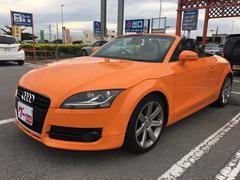 沖縄の中古車 アウディ アウディ TTロードスター 車両価格 155万円 リ済込 2008年 6.9万K オレンジM