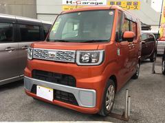 沖縄の中古車 ダイハツ ウェイク 車両価格 115万円 リ済込 平成27年 3.2万K オレンジ