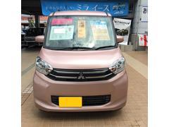 沖縄の中古車 三菱 eKスペース 車両価格 103万円 リ済込 平成29年 2.5万K ピンク