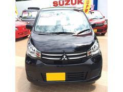 沖縄の中古車 三菱 eKワゴン 車両価格 84万円 リ済込 平成27年 3.2万K ブラック
