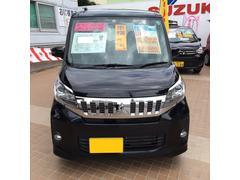沖縄の中古車 三菱 eKスペースカスタム 車両価格 118万円 リ済込 平成27年 3.0万K ブラック