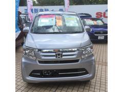 沖縄の中古車 ホンダ N−WGN 車両価格 123万円 リ済込 平成29年 4K ルナシルバー・メタリック