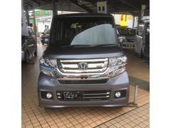 沖縄の中古車 ホンダ N BOXカスタム 車両価格 163万円 リ済込 平成29年 4K シャイニンググレー・メタリック