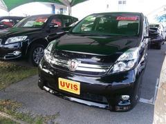 沖縄の中古車 トヨタ アイシス 車両価格 178万円 リ済別 平成28年 0.6万K ブラック