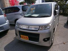 沖縄の中古車 スズキ ワゴンRスティングレー 車両価格 68万円 リ済別 平成22年 5.8万K シルバー