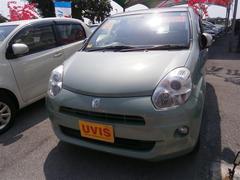 沖縄の中古車 トヨタ パッソ 車両価格 86.4万円 リ済別 平成22年 4.8万K グリーン