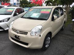 沖縄の中古車 トヨタ パッソ 車両価格 75.6万円 リ済別 平成22年 1.2万K クリーム