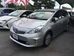 沖縄の中古車 トヨタ プリウスアルファ 車両価格 140.4万円 リ済別 平成24年 7.9万K シルバー