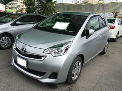 沖縄の中古車 トヨタ ラクティス 車両価格 140.4万円 リ済別 平成27年 0.9万K シルバー