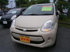 沖縄の中古車 トヨタ パッソ 車両価格 113.4万円 リ済別 平成28年 0.7万K ベージュ