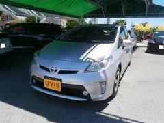 沖縄の中古車 トヨタ プリウス 車両価格 118万円 リ済別 平成25年 8.3万K シルバー