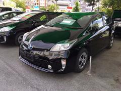 沖縄の中古車 トヨタ プリウス 車両価格 167.4万円 リ済別 平成26年 4.2万K ブラック