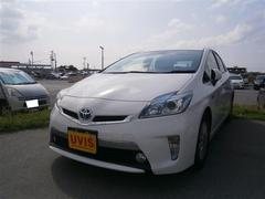 沖縄の中古車 トヨタ プリウスPHV 車両価格 140.4万円 リ済別 平成25年 5.8万K ホワイト