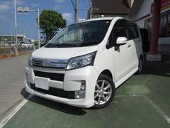沖縄の中古車 ダイハツ ムーヴ 車両価格 99万円 リ済別 平成26年 1.7万K パールホワイトIII