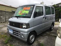 沖縄の中古車 三菱 ミニキャブバン 車両価格 33万円 リ済込 平成17年 9.4万K シルバー