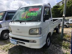 沖縄の中古車 ダイハツ ハイゼットトラック 車両価格 37万円 リ済込 平成15年 12.6万K ホワイト
