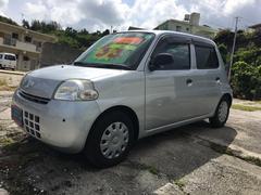 沖縄の中古車 ダイハツ エッセ 車両価格 30万円 リ済込 平成23年 9.7万K シルバー