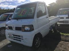 沖縄の中古車 日産 クリッパートラック 車両価格 35万円 リ済込 平成17年 12.3万K ホワイト
