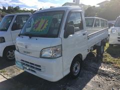 沖縄の中古車 ダイハツ ハイゼットトラック 車両価格 38万円 リ済込 平成17年 9.9万K ホワイト