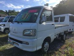 沖縄の中古車 ダイハツ ハイゼットトラック 車両価格 28万円 リ済込 平成15年 11.4万K ホワイト