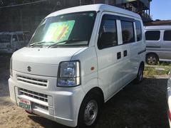 沖縄の中古車 スズキ エブリイ 車両価格 38万円 リ済込 平成22年 13.8万K ホワイト