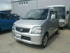 沖縄の中古車 マツダ AZワゴン 車両価格 28万円 リ済込 平成15年 16.5万K シルバー