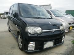 沖縄の中古車 ダイハツ ムーヴ 車両価格 13万円 リ済込 平成15年 16.1万K ブラック