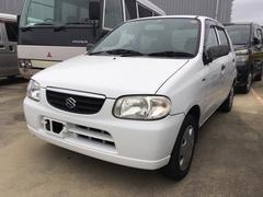 沖縄の中古車 スズキ アルト 車両価格 13万円 リ済込 平成13年 13.7万K ホワイト