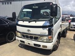 沖縄の中古車 トヨタ ダイナトラック 車両価格 98万円 リ済込 平成15年 21.2万K ホワイト