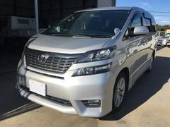 沖縄の中古車 トヨタ ヴェルファイア 車両価格 169万円 リ済込 平成21年 6.1万K シルバー