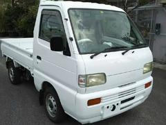 沖縄の中古車 スズキ キャリイトラック 車両価格 15万円 リ済込 平成8年 13.4万K ホワイト