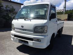 沖縄の中古車 ダイハツ ハイゼットトラック 車両価格 26万円 リ済込 平成14年 8.1万K ホワイト