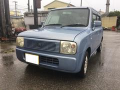 沖縄の中古車 スズキ アルトラパン 車両価格 16万円 リ済込 平成15年 18.9万K ライトブルー