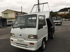 沖縄の中古車 スバル サンバートラック 車両価格 24万円 リ済込 平成3年 12.9万K ホワイト