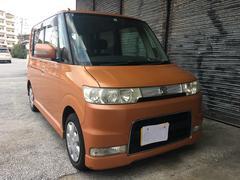 沖縄の中古車 ダイハツ タント 車両価格 28万円 リ済込 平成18年 9.5万K オレンジ