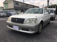 沖縄の中古車 トヨタ クラウン 車両価格 14万円 リ済込 平成13年 5.2万K ホワイト