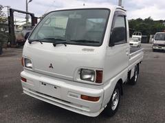 沖縄の中古車 三菱 ミニキャブトラック 車両価格 25万円 リ済込 平成8年 10.0万K ホワイト
