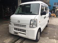 沖縄の中古車 マツダ スクラム 車両価格 22万円 リ済込 平成17年 19.4万K ホワイト