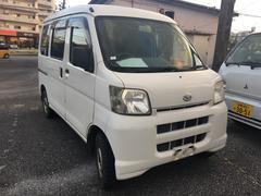 沖縄の中古車 ダイハツ ハイゼットカーゴ 車両価格 24万円 リ済込 平成19年 16.1万K ホワイト