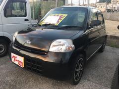 沖縄の中古車 ダイハツ エッセ 車両価格 18万円 リ済込 平成21年 14.0万K ブラックM
