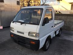 沖縄の中古車 スズキ キャリイトラック 車両価格 12万円 リ済込 平成7年 5.0万K ホワイト